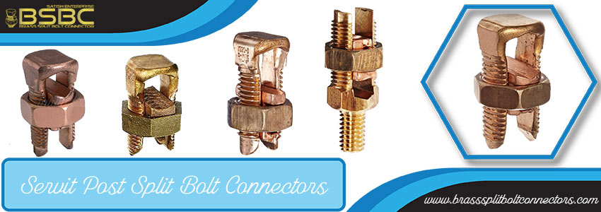Servit Post Split Bolt Connectors