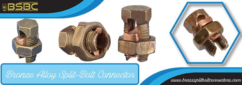 Bronze Alloy Split-Bolt Connector