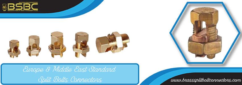 Europe & Middle East Standard Split Bolt Connectors